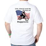 Motocross Happiness Golf Shirt