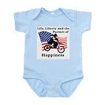 Motocross Happiness Infant Creeper