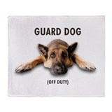 Guard Dog Throw Blanket