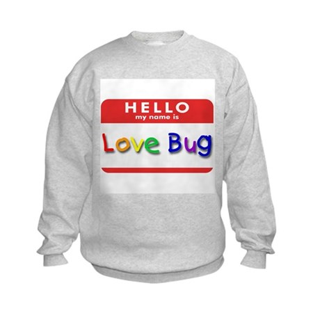 Love Bug Kids Sweatshirt