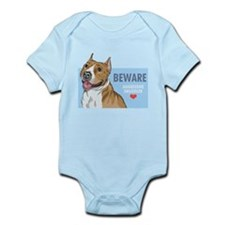Aggressive Snuggler Infant Bodysuit