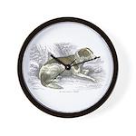 Boar Hound Dog Wall Clock