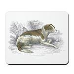 Boar Hound Dog Mousepad