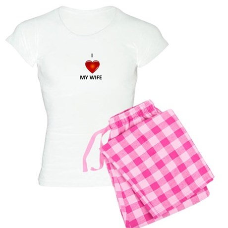 I Love my Wife Women's Light Pajamas