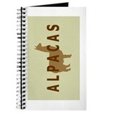 alpacas gifts &amp; t's (sage/br) Journal
