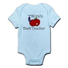 Worlds Best Teacher Infant Bodysuit