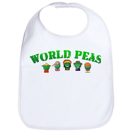 World Peas Bib