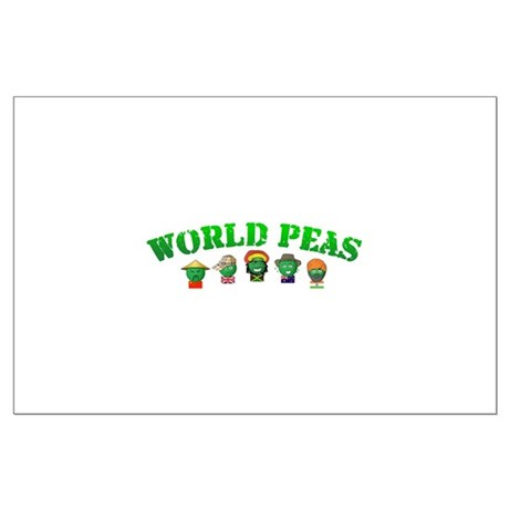World Peas Large Poster
