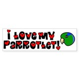 Anime Parrotlet Bumper Bumper Sticker
