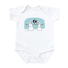 Border Collie Holiday Infant Bodysuit