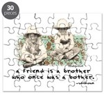 A Friend is a Brother Puzzle
