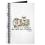 A Friend is a Brother Journal