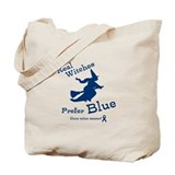 Blue Witch Tote Bag