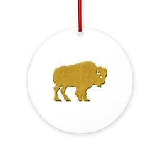 American Bison Ornament (Round)