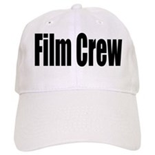 White Film Crew Baseball Cap