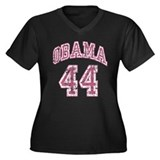 Obama 44th President pnk Plus Size T-Shirt