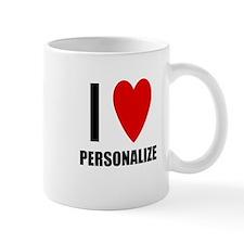 I Love... Small Mug