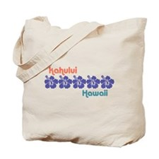 Kahului Hawaii Tote Bag