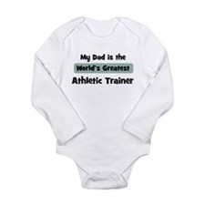 Cute Career dad Long Sleeve Infant Bodysuit