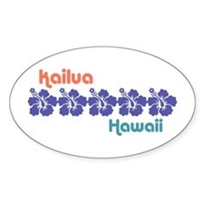 Kailua Hawaii Decal