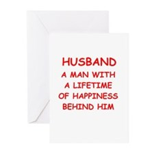 HUSBAND.png Greeting Cards (Pk of 10)