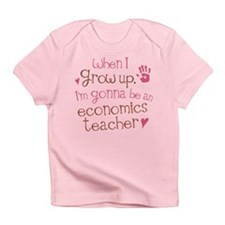 Future Economics Teacher Infant T-Shirt