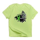 Warrior Lymphoma Butterfy Infant T-Shirt