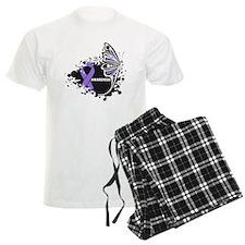 Butterfly Hodgkin Lymphoma pajamas