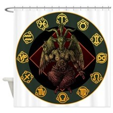 Baphomet 2 Shower Curtain