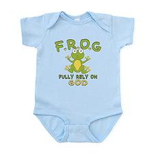Fully Rely On God Infant Bodysuit