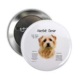 Norfolk Terrier Button