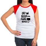Eat Sleep Piano Tee