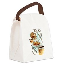 Thanksgiving Dinner Canvas Lunch Bag