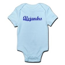Alejandro, Blue, Aged Infant Bodysuit