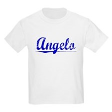 Angelo, Blue, Aged T-Shirt