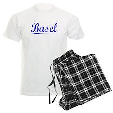 Basel, Blue, Aged Pajamas