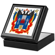 Rostov Coat of Arms Keepsake Box