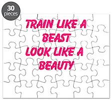 Train like a beast - look like a beauty Puzzle