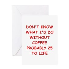 COFFEE2.png Greeting Card
