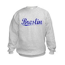 Breslin, Blue, Aged Sweatshirt