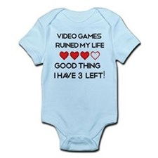 Video games ruined my life Infant Bodysuit