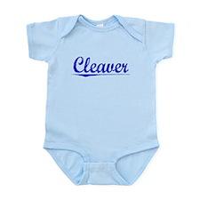 Cleaver, Blue, Aged Infant Bodysuit