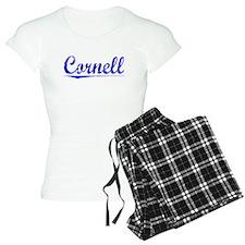 Cornell, Blue, Aged Pajamas