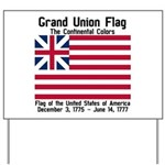 Grand Union Flag Yard Sign