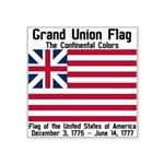 Grand Union Flag Square Sticker 3