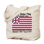 Grand Union Flag Tote Bag