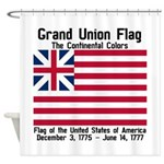 Grand Union Flag Shower Curtain