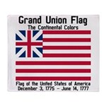Grand Union Flag Throw Blanket