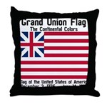 Grand Union Flag Throw Pillow
