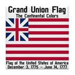 Grand Union Flag Tile Coaster